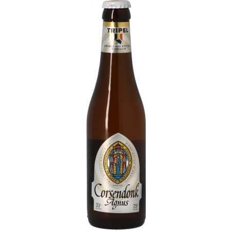 CORSENDONK AGNUS Triple Belgian beer 7.5 ° 33 cl