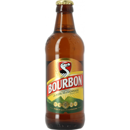 Cerveza rubia DODO BOURBON Isla de la Reunión francesa 5 ° 33 cl