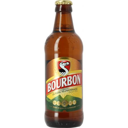 DODO BOURBON Blondes Bier Französische Insel der Wiedervereinigung 5 ° 33 cl