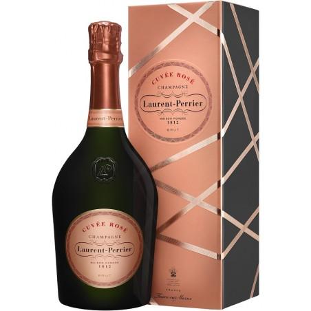 Laurent-Perrier CHAMPAGNE BRUT Rosé Wine AOP 75 cl in its case