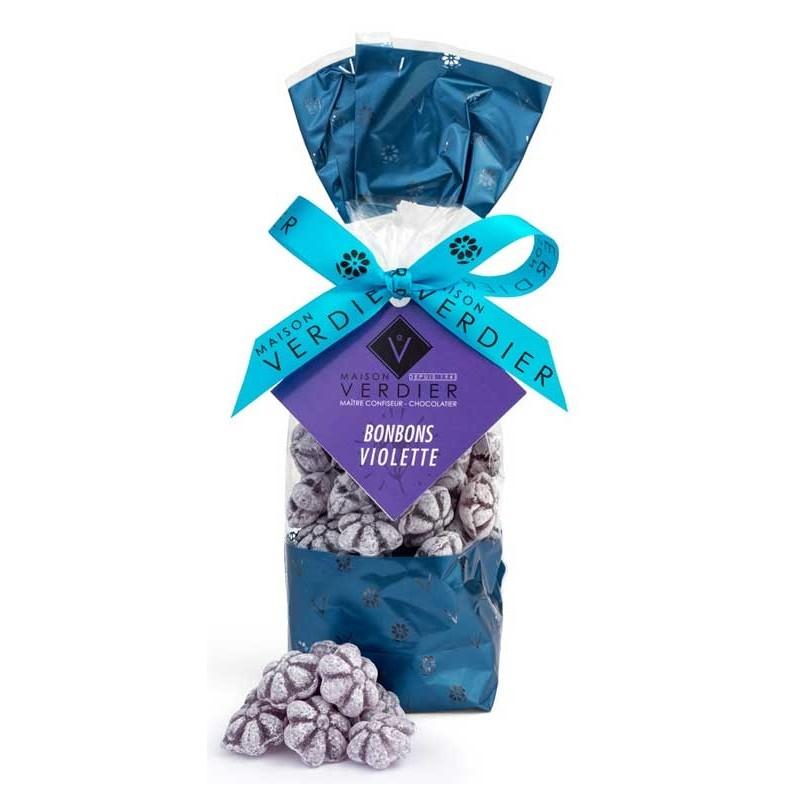 Caramelos violetas Verdier bolsa de 200 g