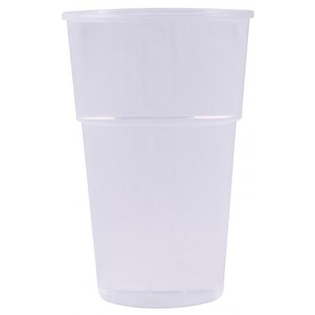 GOBELET à bière en plastique transparent réutilisable 40 cl/50 cl/63 cl - les 25