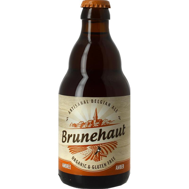 Bière BIO BRUNEHAUT SANS GLUTEN Ambrée Belge 6,5° 33 cl