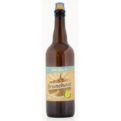 Bière BIO BRUNEHAUT SANS GLUTEN Blanche Belge 5° 75 cl