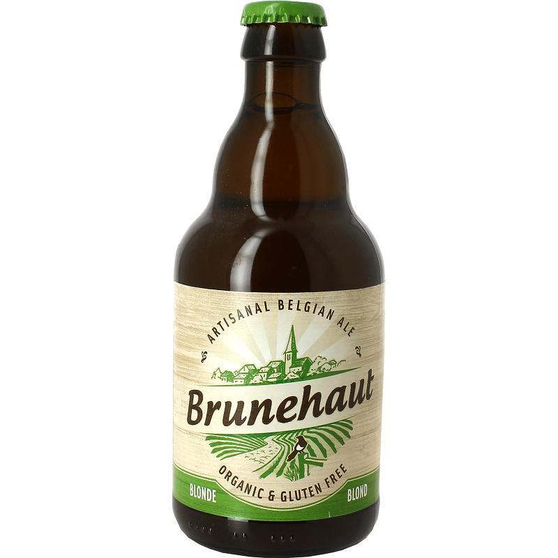Bière BIO BRUNEHAUT SANS GLUTEN Blonde Belge 6,5° 33 cl