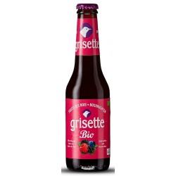 Bière GRISETTE FRUITS DES BOIS Blanche BIO Belge 3,5° 25 cl