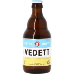 Cerveza Belga Blanca VEDETT WITTE 4.7 ° 33 cl