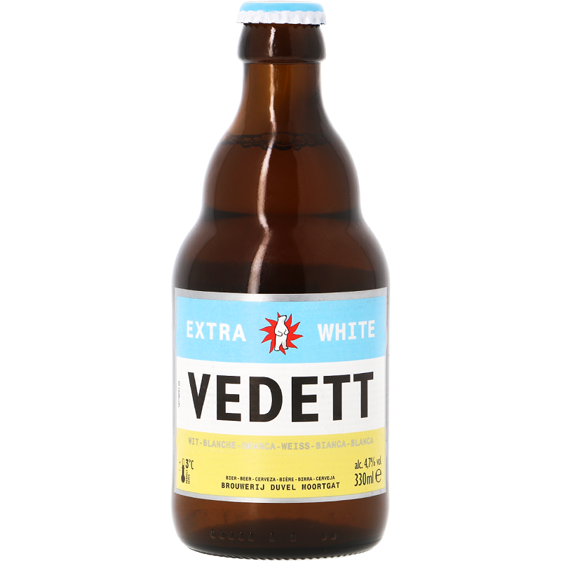 VEDETT WITTE Belgisches Weißbier 4,7 ° 33 cl