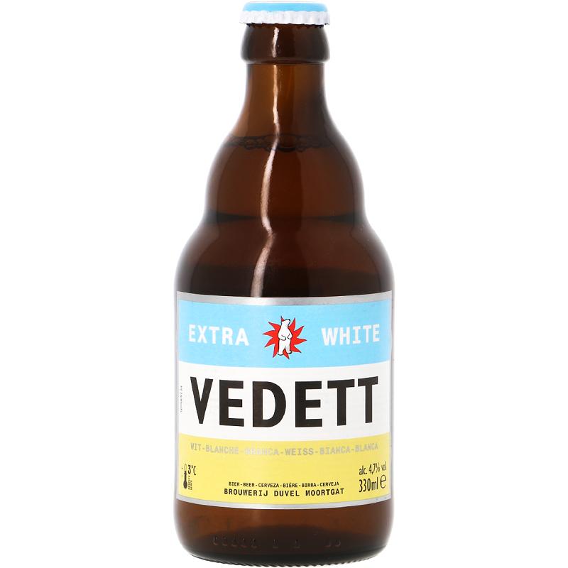 VEDETT WITTE White Belgian Beer 4.7 ° 33 cl