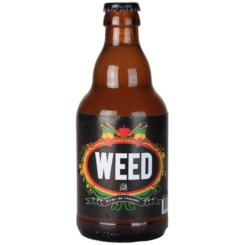 Bier WEED Blonde Frankreich 5,5 ° 33 cl