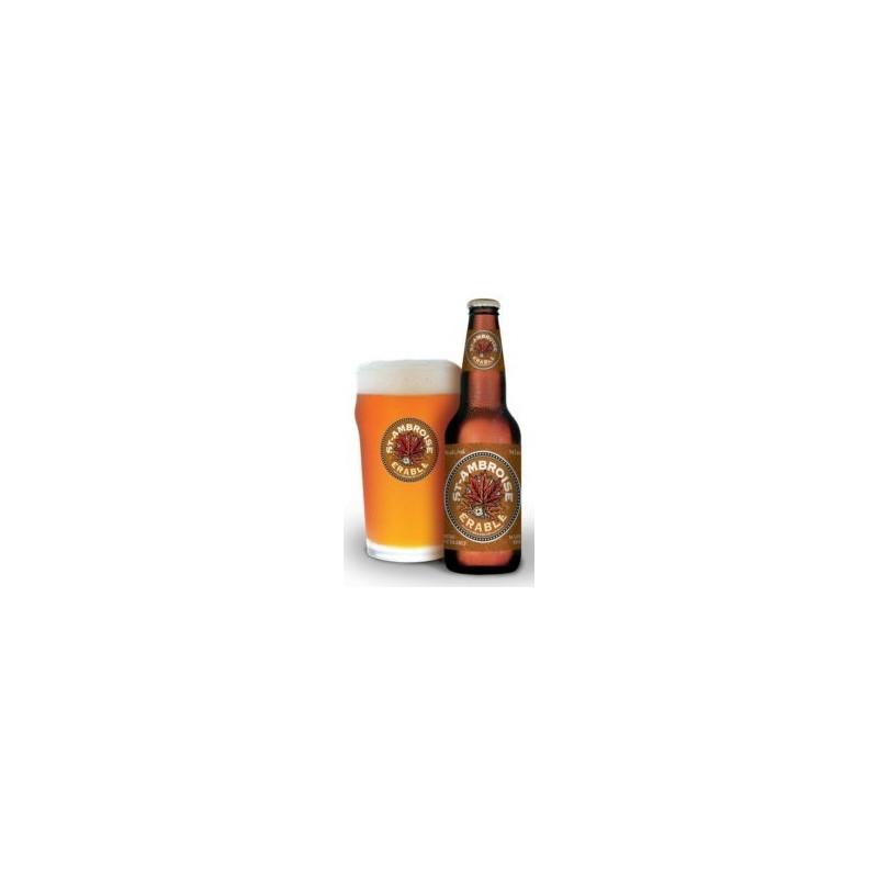Bière ST AMBROISE ERABLE Ambrée Canadienne 4,5° 34,1 cl
