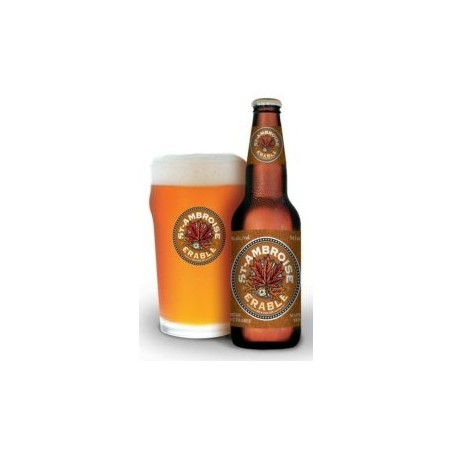 Beer ST AMBROISE ERABLE Canadian Amber 4.5 ° 34.1 cl