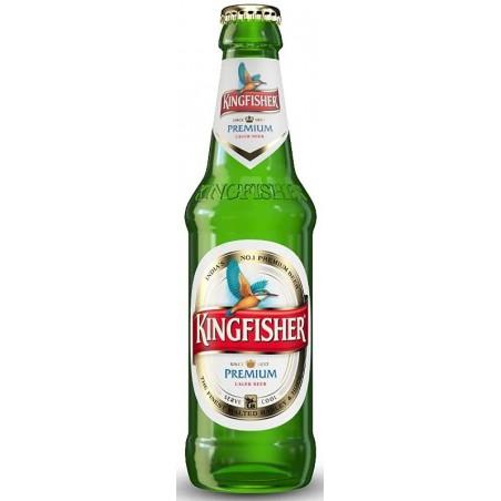 KINGFISHER PREMIUM Blondes indisches Bier 4,8 ° 33 cl