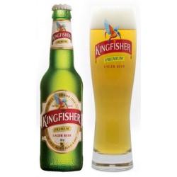 KINGFISHER PREMIUM Blonde Indian beer 4.8 ° 33 cl