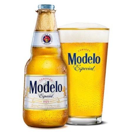 Bière MODELO ESPECIAL Blonde Mexicaine 4,5° 35.5 cl