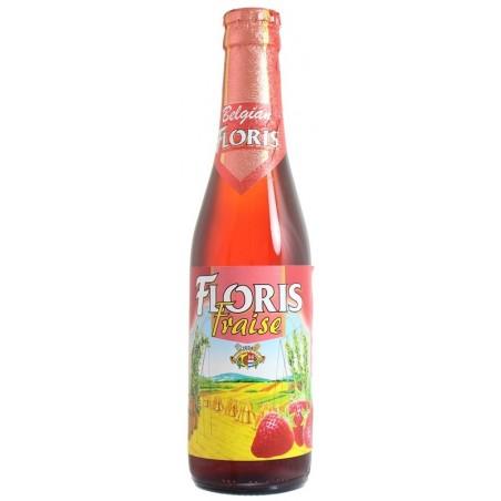 FLORIS Bier mit belgischer weißer Erdbeere 3,6 ° 33 cl