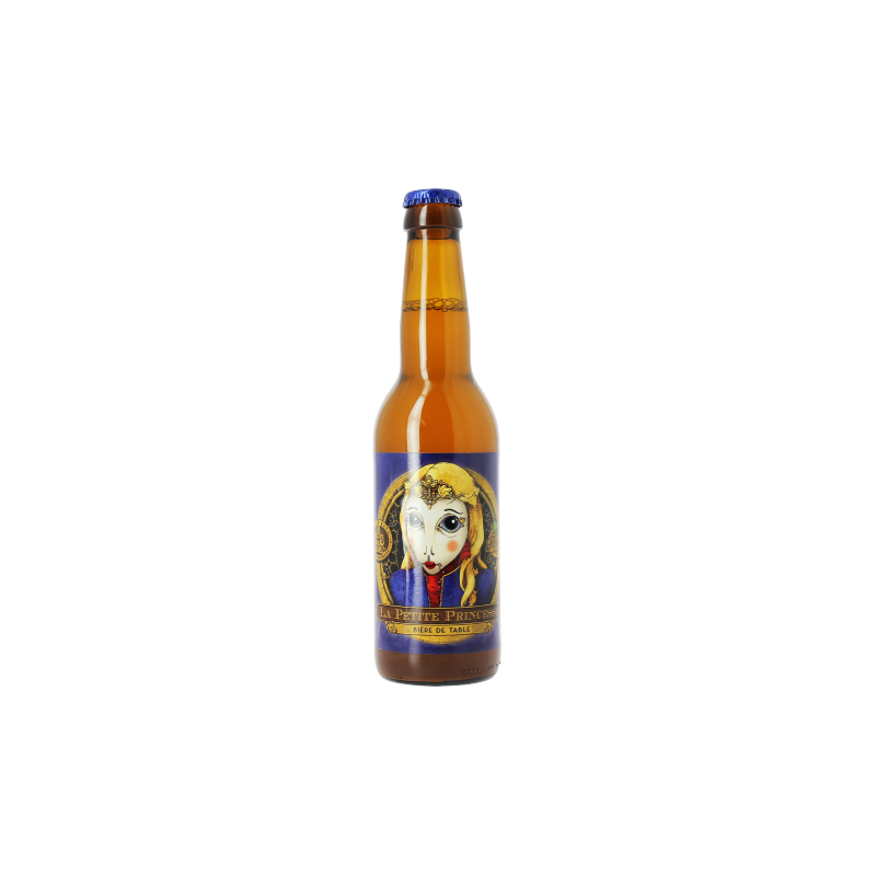 Bière PETITE PRINCESSE Blonde Française 2,9° 33 cl