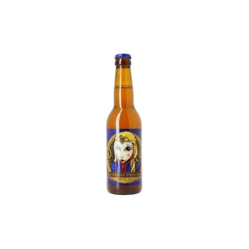 PETITE PRINCESSE Cerveza francesa rubia 2.9 ° 33 cl