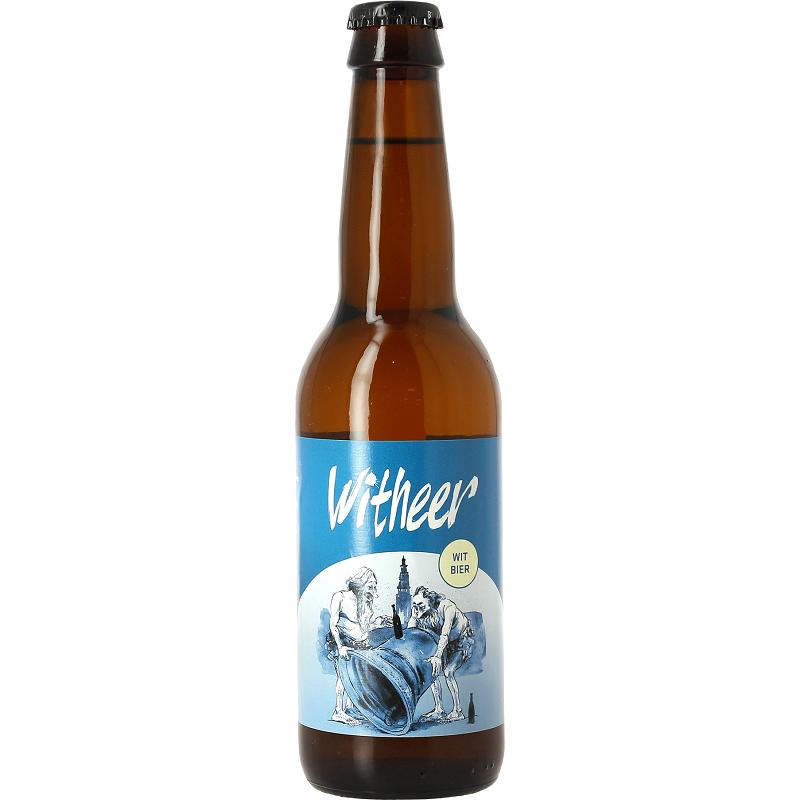 WITHEER Birra Bianca Olandese 5° 33 cl