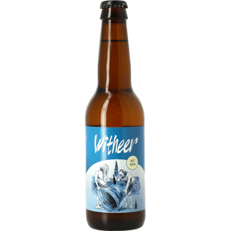 WITHEER Cerveza Blanca Holandesa 5 ° 33 cl