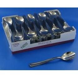 SPOON CAFE PLASTIC Inox-bag 100