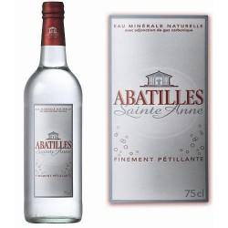 """EAU MINERALE D'ARCACHON """"Abatilles"""" PETILLANTE -pet- 1 L"""