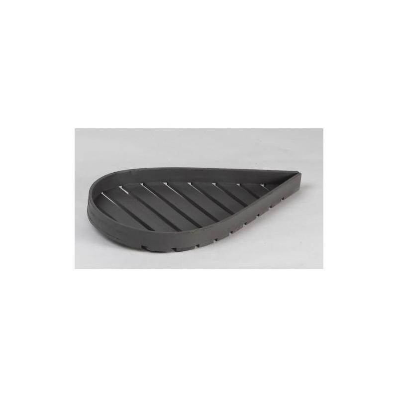 PLATEAU  -Maureen G - en forme de feuille en bois gris clair